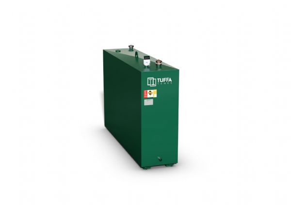 1100 Litre Steel Oil Tank - Single Skin